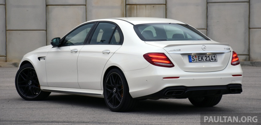 DRIVEN: W213 Mercedes-AMG E63S – right to the top Image #721361