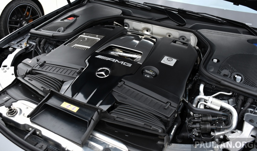 DRIVEN: W213 Mercedes-AMG E63S – right to the top Image #721400