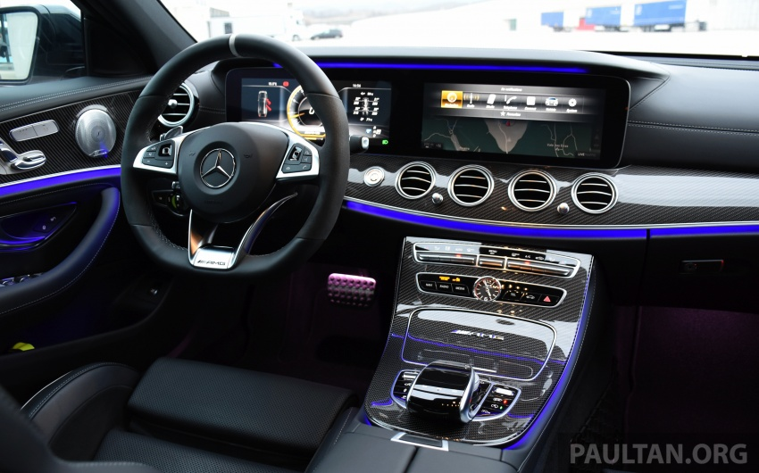 DRIVEN: W213 Mercedes-AMG E63S – right to the top Image #721403
