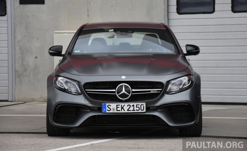 DRIVEN: W213 Mercedes-AMG E63S – right to the top Image #721363