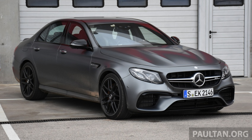 DRIVEN: W213 Mercedes-AMG E63S – right to the top Image #721365