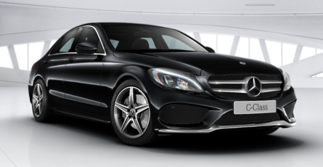 The New Mercedes Benz C 200 Amg Line Marks Latest Variant To Join Local W205 Cl Up Slotting Above Avantgarde With A Price Of