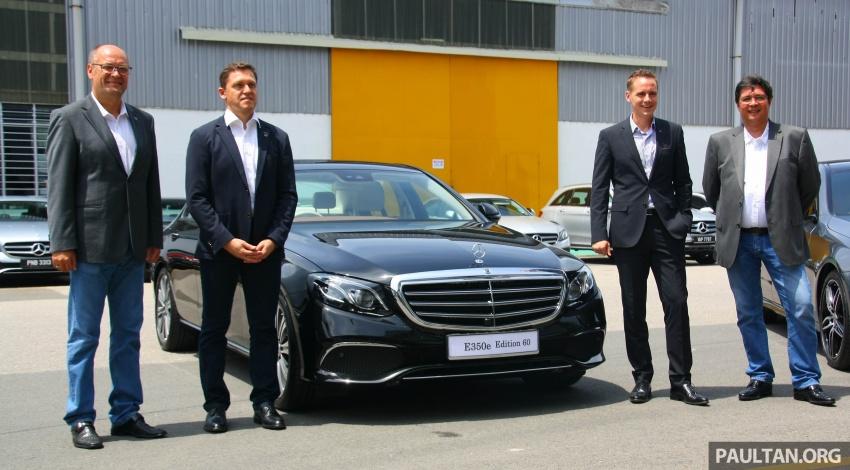 Mercedes-Benz E 350e dilancarkan untuk Malaysia – plug-in hybrid, tiga varian, harga bermula RM392,888 Image #719987