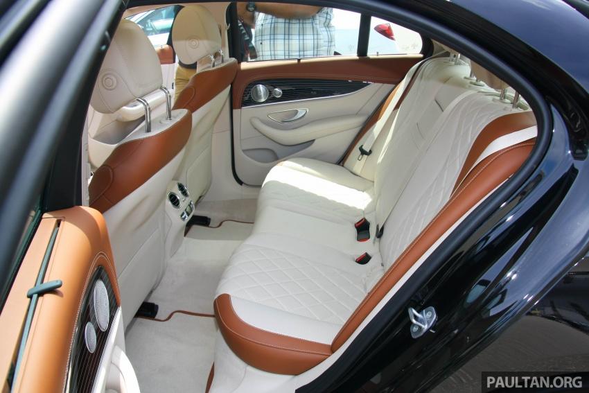 Mercedes-Benz E 350e dilancarkan untuk Malaysia – plug-in hybrid, tiga varian, harga bermula RM392,888 Image #719996