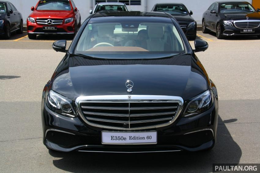 Mercedes-Benz E 350e dilancarkan untuk Malaysia – plug-in hybrid, tiga varian, harga bermula RM392,888 Image #720004