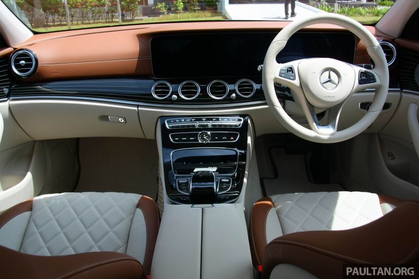 Mercedes-Benz E 350e dilancarkan untuk Malaysia – plug-in hybrid, tiga varian, harga bermula RM392,888 Image #720009