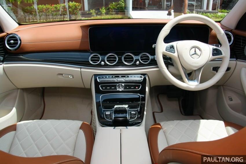Mercedes-Benz E 350e dilancarkan untuk Malaysia – plug-in hybrid, tiga varian, harga bermula RM392,888 Image #720010