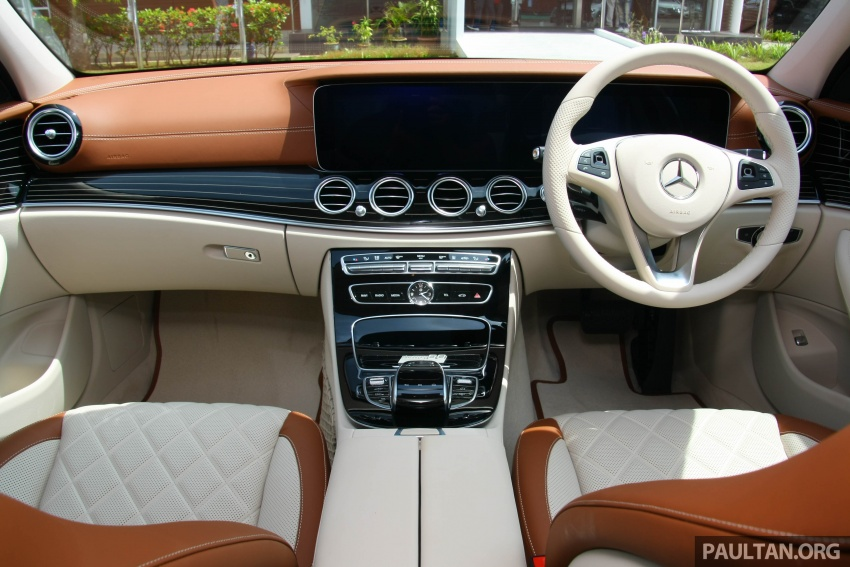 Mercedes-Benz E 350e dilancarkan untuk Malaysia – plug-in hybrid, tiga varian, harga bermula RM392,888 Image #720011