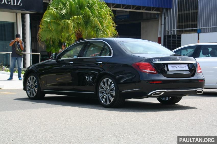 Mercedes-Benz E 350e dilancarkan untuk Malaysia – plug-in hybrid, tiga varian, harga bermula RM392,888 Image #720021