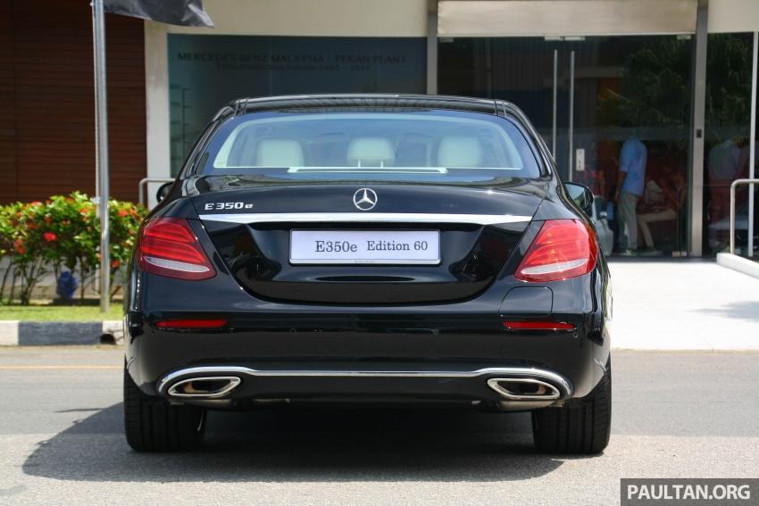 Mercedes-Benz E 350e dilancarkan untuk Malaysia – plug-in hybrid, tiga varian, harga bermula RM392,888 Image #720025