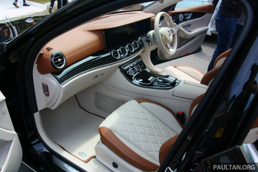 Mercedes-Benz E 350e dilancarkan untuk Malaysia – plug-in hybrid, tiga varian, harga bermula RM392,888 Image #719990