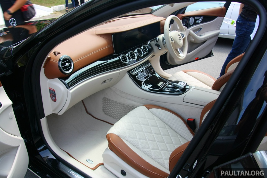Mercedes-Benz E 350e dilancarkan untuk Malaysia – plug-in hybrid, tiga varian, harga bermula RM392,888 Image #719991