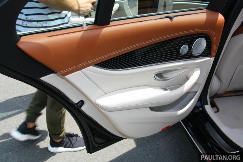 Mercedes-Benz E 350e dilancarkan untuk Malaysia – plug-in hybrid, tiga varian, harga bermula RM392,888 Image #719994