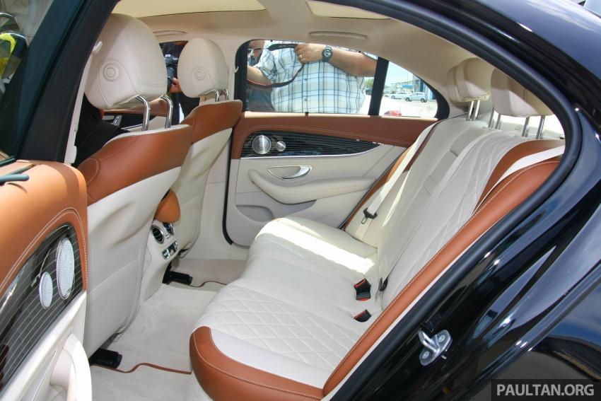Mercedes-Benz E 350e dilancarkan untuk Malaysia – plug-in hybrid, tiga varian, harga bermula RM392,888 Image #719995