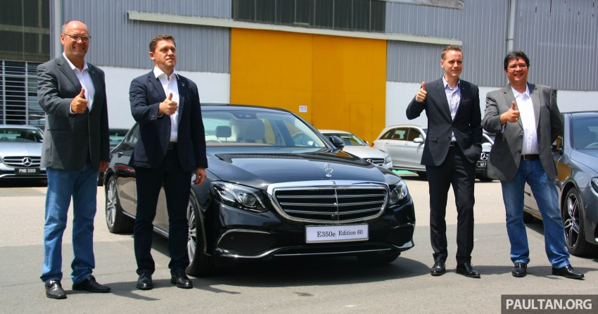 Mercedes-Benz E350e plug-in hybrid launched in M'sia – Exclusive, AMG Line and Edition 60, from RM393k Image #720045