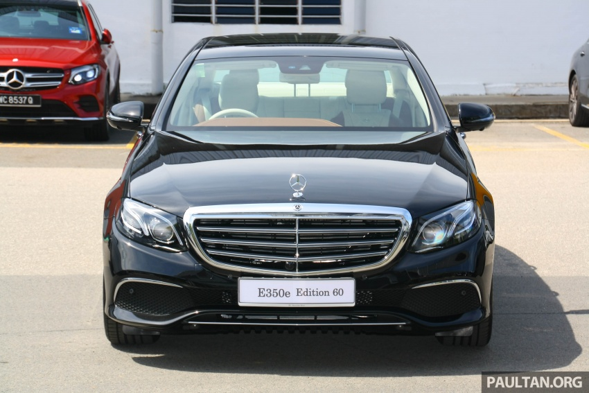 Mercedes-Benz E350e plug-in hybrid launched in M'sia – Exclusive, AMG Line and Edition 60, from RM393k Image #720046