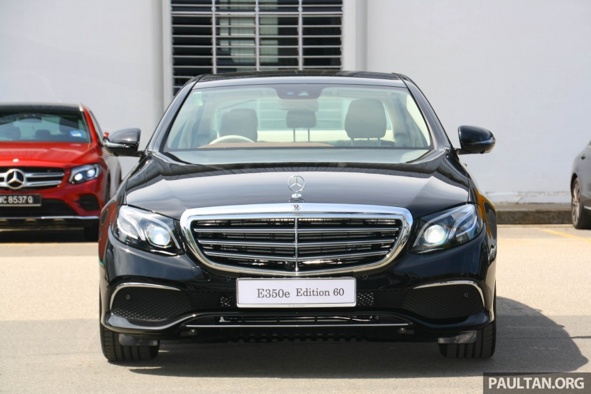 Mercedes-Benz E350e plug-in hybrid launched in M'sia – Exclusive, AMG Line and Edition 60, from RM393k Image #720047