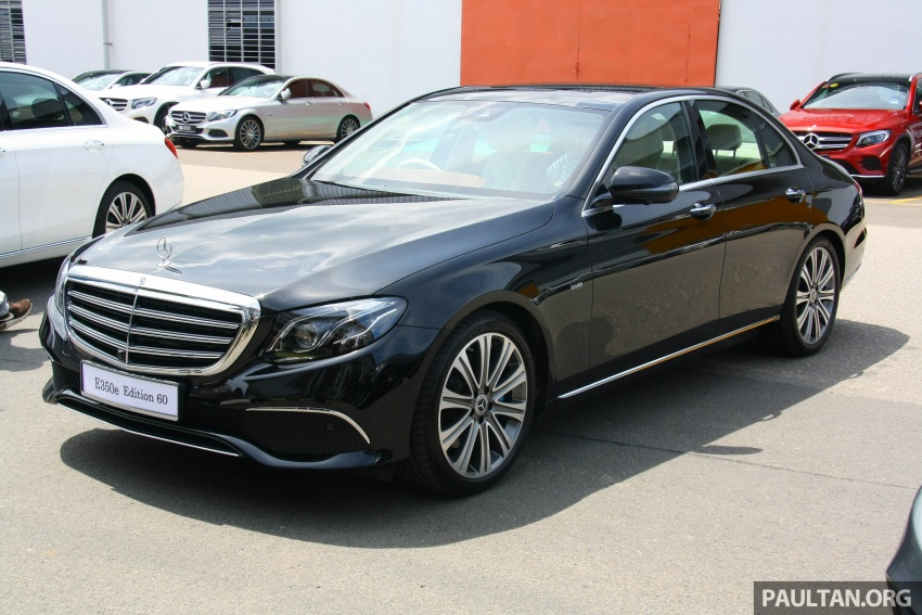 Mercedes-Benz E350e plug-in hybrid launched in M'sia – Exclusive, AMG Line and Edition 60, from RM393k Image #720050