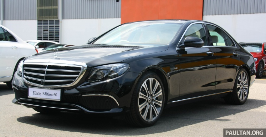 Mercedes-Benz E350e plug-in hybrid launched in M'sia – Exclusive, AMG Line and Edition 60, from RM393k Image #720051