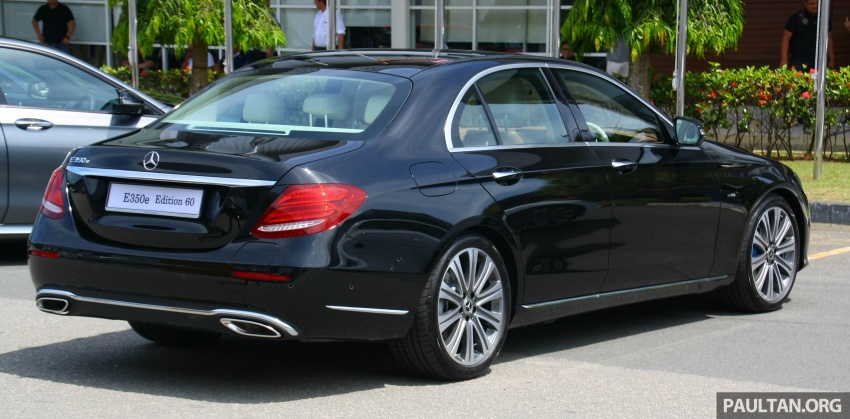 Mercedes-Benz E350e plug-in hybrid launched in M'sia – Exclusive, AMG Line and Edition 60, from RM393k Image #720052