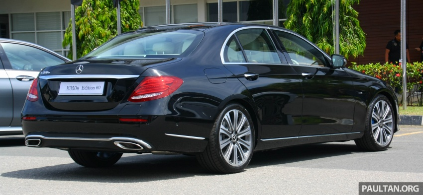 Mercedes-Benz E350e plug-in hybrid launched in M'sia – Exclusive, AMG Line and Edition 60, from RM393k Image #720053