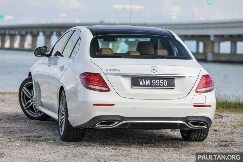 Mercedes-Benz E350e plug-in hybrid launched in M'sia – Exclusive, AMG Line and Edition 60, from RM393k Image #719878
