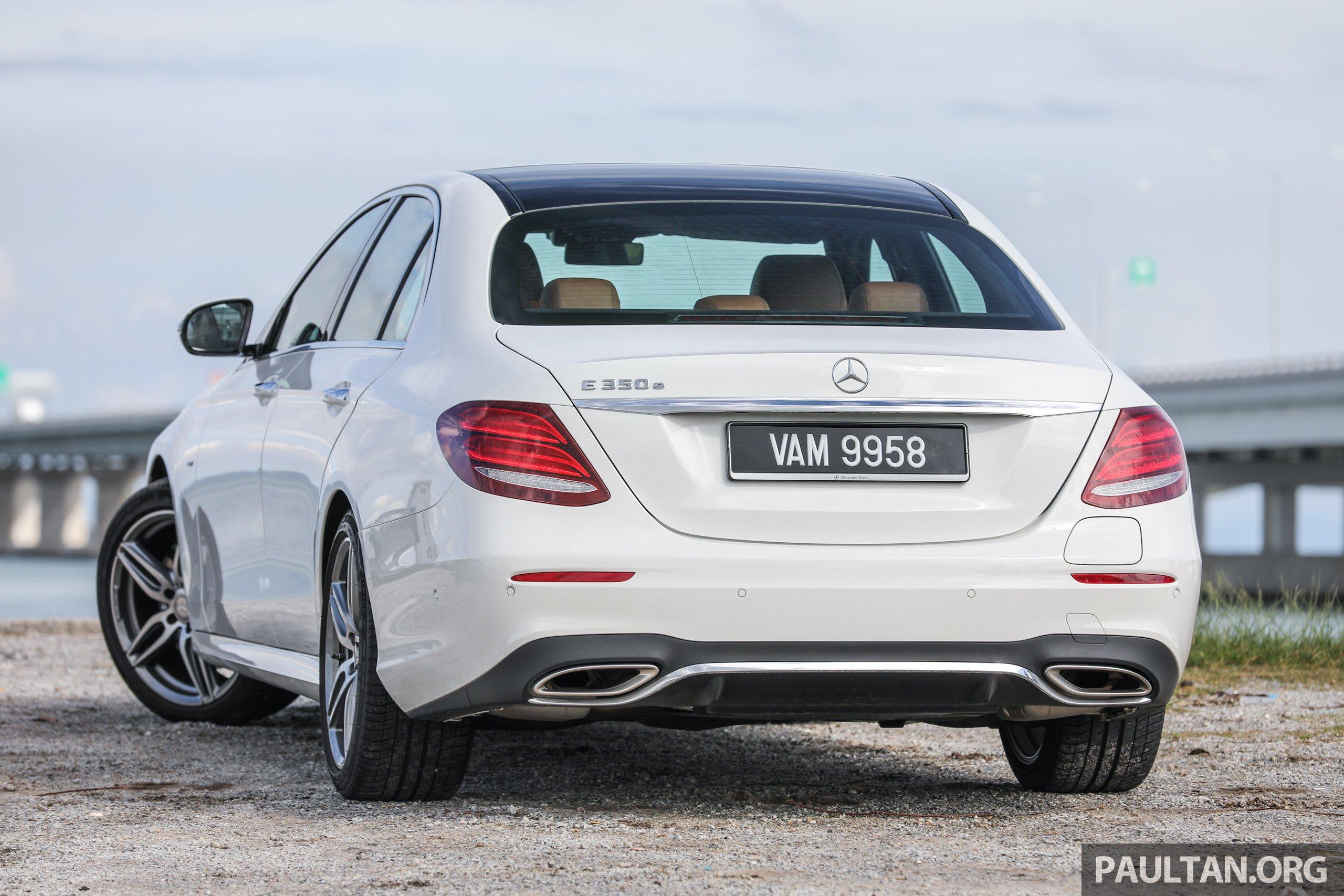 Mercedes-Benz E350e plug-in hybrid launched in M'sia