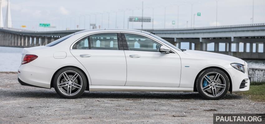 Mercedes-Benz E 350e dilancarkan untuk Malaysia – plug-in hybrid, tiga varian, harga bermula RM392,888 Image #720098