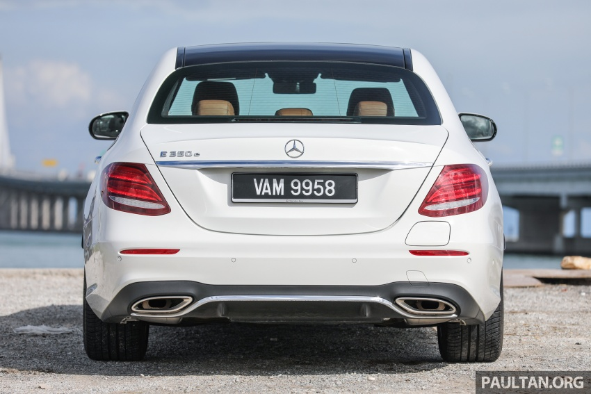 Mercedes-Benz E350e plug-in hybrid launched in M'sia – Exclusive, AMG Line and Edition 60, from RM393k Image #719885