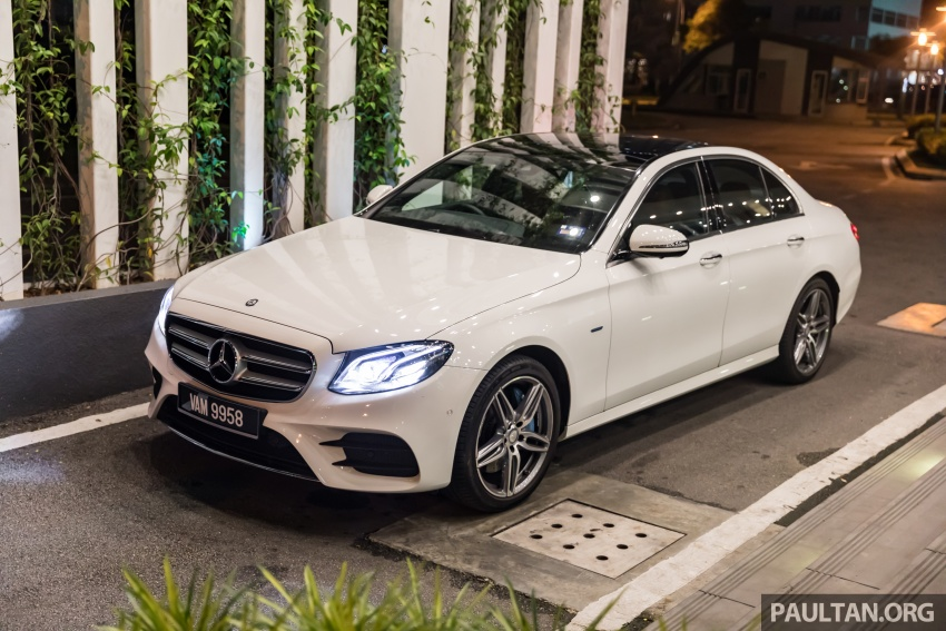 Mercedes-Benz E350e plug-in hybrid launched in M'sia – Exclusive, AMG Line and Edition 60, from RM393k Image #719870