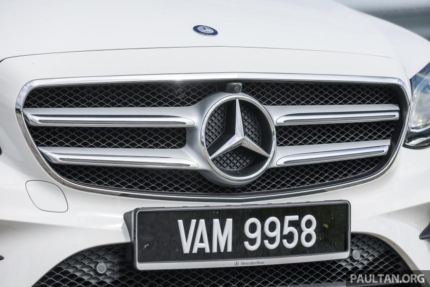 Mercedes-Benz E 350e dilancarkan untuk Malaysia – plug-in hybrid, tiga varian, harga bermula RM392,888 Image #720110