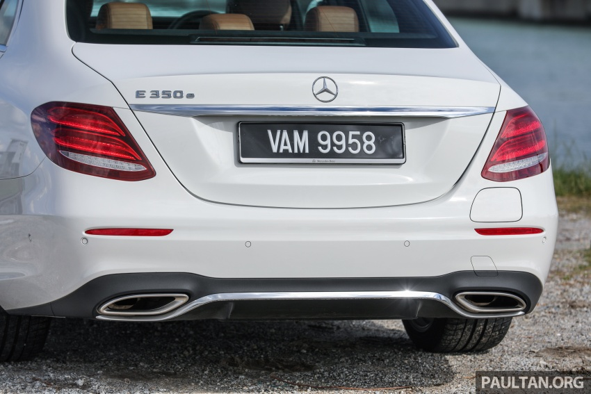 Mercedes-Benz E350e plug-in hybrid launched in M'sia – Exclusive, AMG Line and Edition 60, from RM393k Image #719905