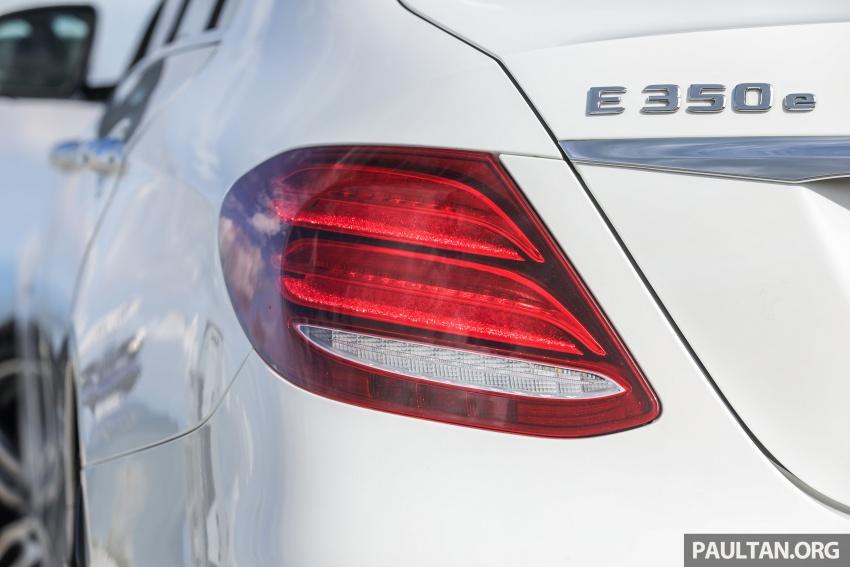 Mercedes-Benz E 350e dilancarkan untuk Malaysia – plug-in hybrid, tiga varian, harga bermula RM392,888 Image #720123