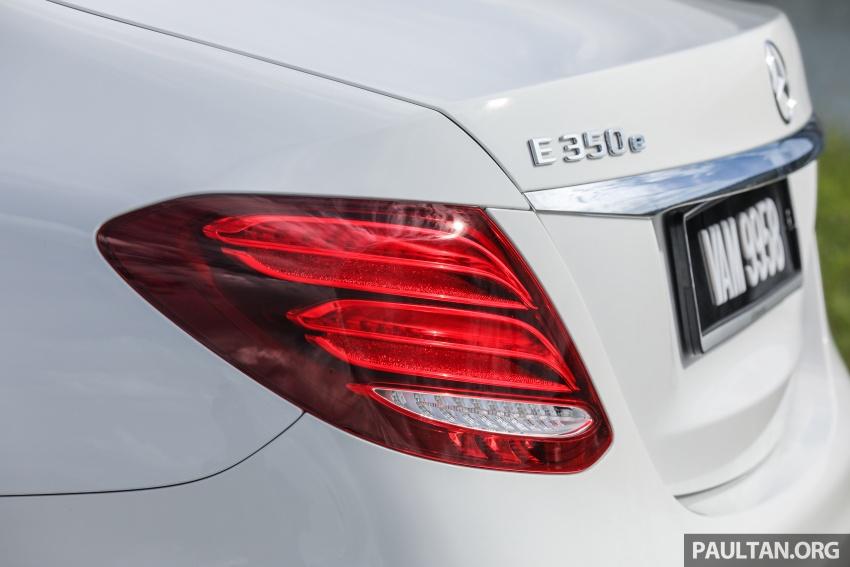 Mercedes-Benz E 350e dilancarkan untuk Malaysia – plug-in hybrid, tiga varian, harga bermula RM392,888 Image #720124