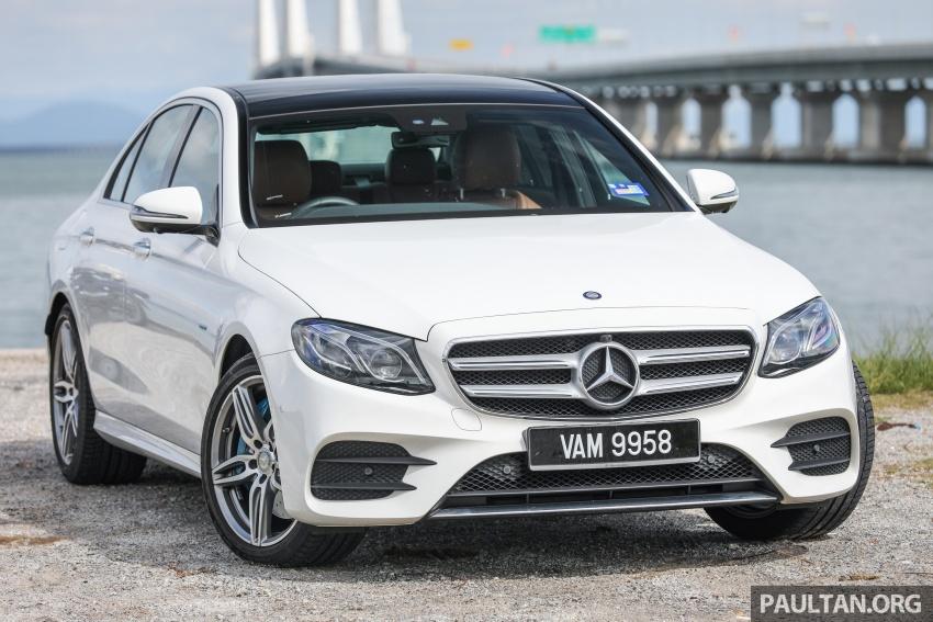 Mercedes-Benz E 350e dilancarkan untuk Malaysia – plug-in hybrid, tiga varian, harga bermula RM392,888 Image #720090