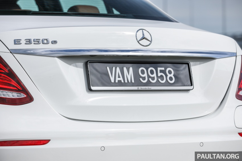 Mercedes-Benz E350e plug-in hybrid launched in M'sia – Exclusive, AMG Line and Edition 60, from RM393k Image #719910