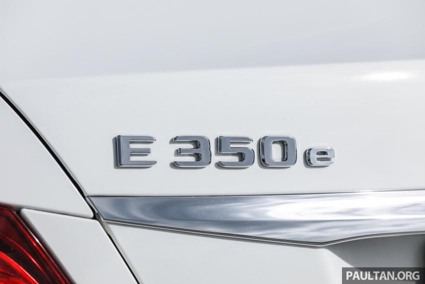 Mercedes-Benz E 350e dilancarkan untuk Malaysia – plug-in hybrid, tiga varian, harga bermula RM392,888 Image #720129