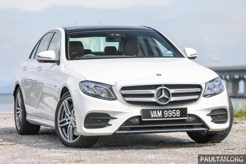 Mercedes-Benz E350e plug-in hybrid launched in M'sia – Exclusive, AMG Line and Edition 60, from RM393k Image #719873