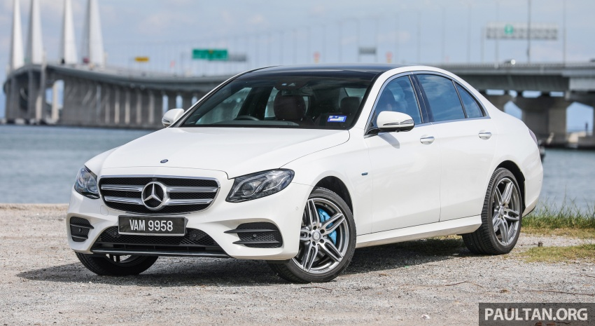 Mercedes-Benz E350e plug-in hybrid launched in M'sia – Exclusive, AMG Line and Edition 60, from RM393k Image #719874