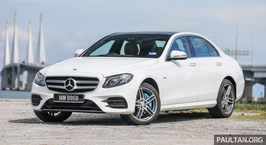 Mercedes-Benz E350e plug-in hybrid launched in M'sia – Exclusive, AMG Line and Edition 60, from RM393k Image #719875