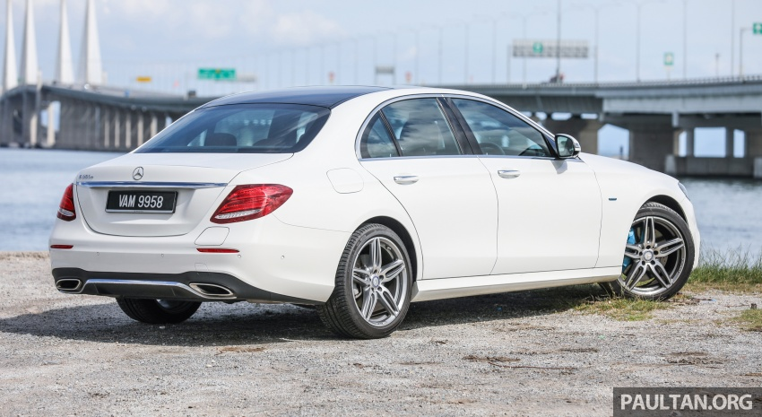 Mercedes-Benz E350e plug-in hybrid launched in M'sia – Exclusive, AMG Line and Edition 60, from RM393k Image #719876
