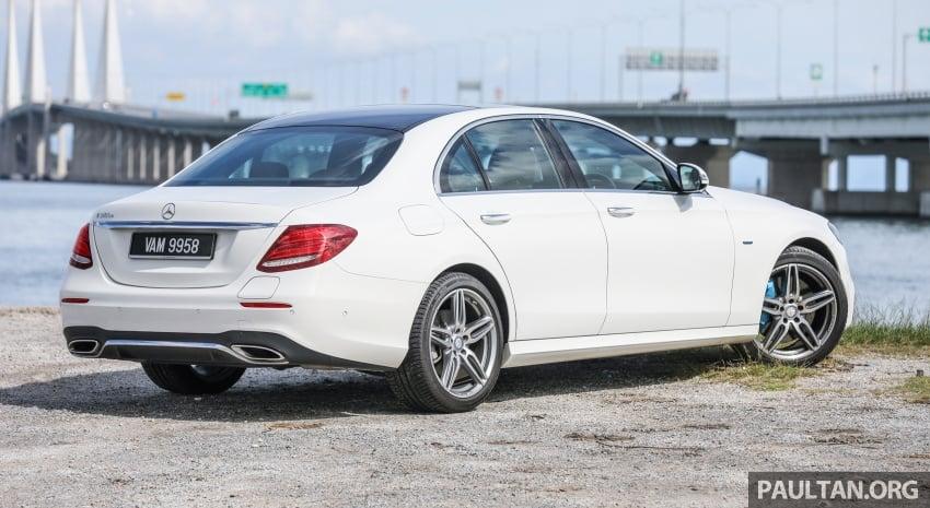 Mercedes-Benz E 350e dilancarkan untuk Malaysia – plug-in hybrid, tiga varian, harga bermula RM392,888 Image #720094