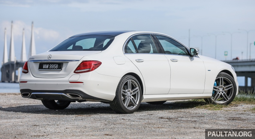 Mercedes-Benz E350e plug-in hybrid launched in M'sia – Exclusive, AMG Line and Edition 60, from RM393k Image #719877