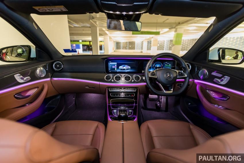 Mercedes-Benz E 350e dilancarkan untuk Malaysia – plug-in hybrid, tiga varian, harga bermula RM392,888 Image #720135