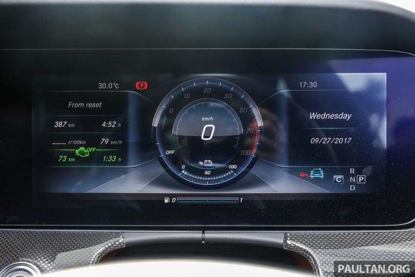 Mercedes-Benz E 350e dilancarkan untuk Malaysia – plug-in hybrid, tiga varian, harga bermula RM392,888 Image #720151