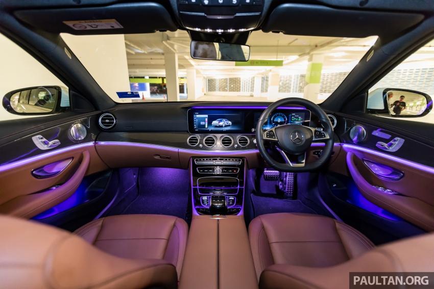 Mercedes-Benz E 350e dilancarkan untuk Malaysia – plug-in hybrid, tiga varian, harga bermula RM392,888 Image #720136