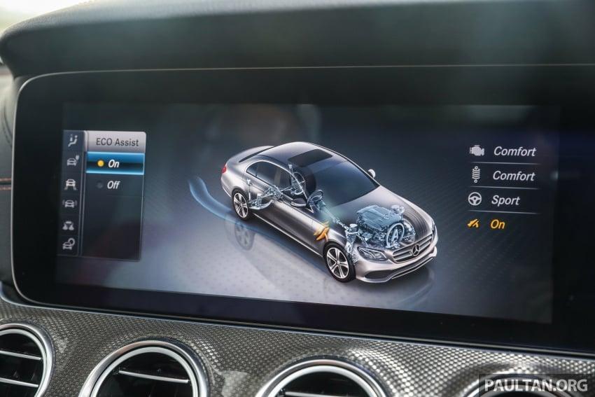 Mercedes-Benz E 350e dilancarkan untuk Malaysia – plug-in hybrid, tiga varian, harga bermula RM392,888 Image #720161