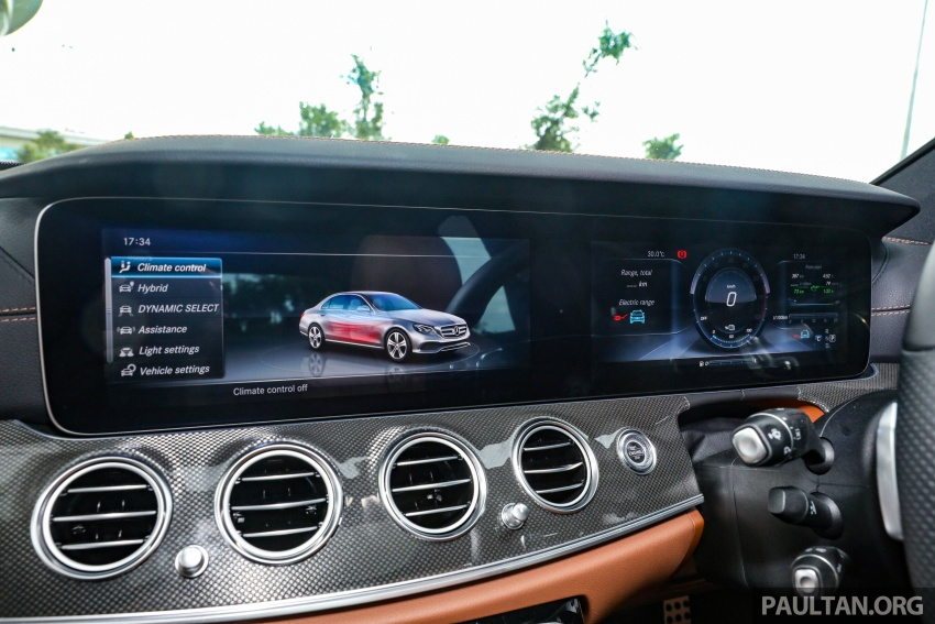 Mercedes-Benz E350e plug-in hybrid launched in M'sia – Exclusive, AMG Line and Edition 60, from RM393k Image #719946