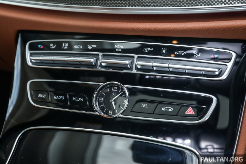 Mercedes-Benz E 350e dilancarkan untuk Malaysia – plug-in hybrid, tiga varian, harga bermula RM392,888 Image #720163