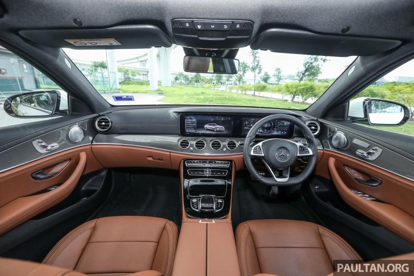 Mercedes-Benz E 350e dilancarkan untuk Malaysia – plug-in hybrid, tiga varian, harga bermula RM392,888 Image #720137